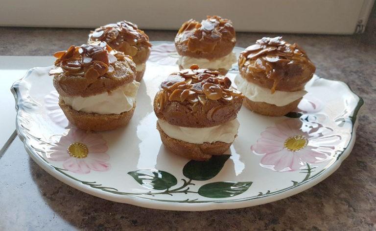 Bienenstichmuffins