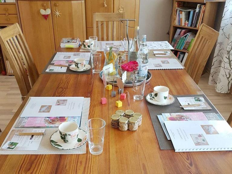 Tisch bei Beratung